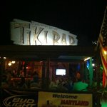 Not much to the Tiki Bar architecturally, but atmosphere is stellar!