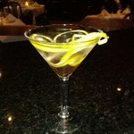 Enjoy a refreshing martini at Via Emilia's bar.