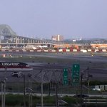 View from Newark International Airport