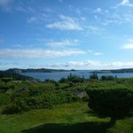 Panaramic View from B+ B of Ocean and Twillingate