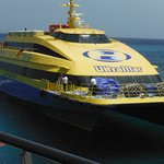 Clean, Fast, Efficient Ferry from Cozumel to Play Del Carmen