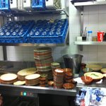 This is Nandos kitchen. Think before u go