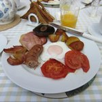 A Shropshire Breakfast!  Absolutely PERFECT.