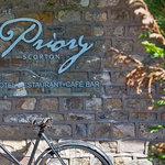 The Priory Hotel Sign