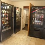 vending machines area
