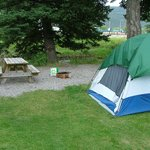 A nice area for tents or RV's
