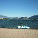 Osoyoos lake from Desert Surfside