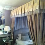 Lovely romantic drape curtains
