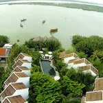 Ancient House River Resort from the sky