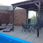 Wonderful terrace with swimming pool