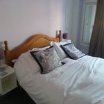 Lilac room bed - lovely and comfy!