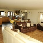 Open plan Living area in 3 bedroomed Shippon