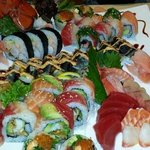Great sushi, Great friendly service, Great atmosphere! c
