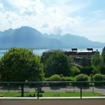 Lake Geneva from the terrace