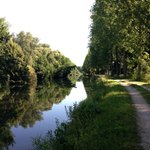 Cycling towards Amiens