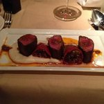 Moroccan Loin of Lamb Dish Christy Hill Restaurant Tahoe City