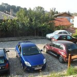 Parking przed Guest House The Old Lovech