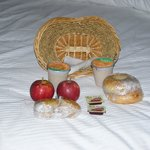 Morning Breakfast for two delivered to your room