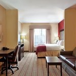 Spacious guest rooms perfect for large families