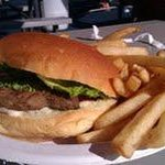 Burger and fries combo. Don't waste your money.