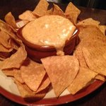 queso dips & tortilla Chips 7.99