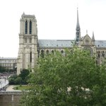 Notre Dame from the Studio's window