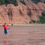"Blomidon Park ""walk the ocean floor"" about a 25 min drive"