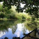 The River Bure by canoe.