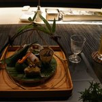 Dinner course at Hoshinoya Kyoto