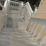 Steps to appartments