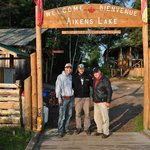 My dad and me with our guide, Dave. Couldn't have asked for a better guide.