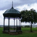 Gazebo at Rosalie overlooking Delta