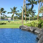 Outrigger Fairway Villa - infinity pool w/Kings Shops & lagoon