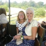 Marcia and Glynis, Port Lympne Wild Animal Park