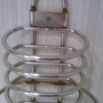rusting towel holder