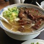 Udon noodlesoup with Cha Siew pork