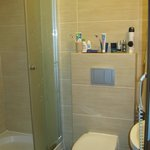 Dusche/WC inder Villa Mariner