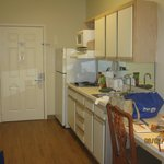 This was the kitchen area