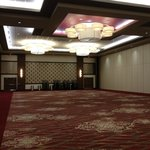 One of the conference rooms we toured