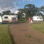 Fieldbarn Caravan site at Monk's Farm Stratford.