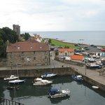View of Dysart Harbour and Harbourmaster's House