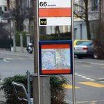 Has it's own bus stop :)