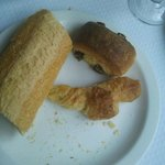 Bread dry, pain au chocolat stale and a laughable mini croissant