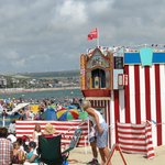 Punch and Judy on the beach .....