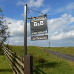 The sign for Burnhead B & B