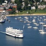 M/V Island Home coming out of Vineyard Haven