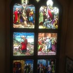 Stained glass window at Ascot House