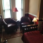 Sitting area of the Morrill Suite