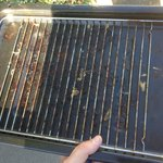 Grill pan at Netley Hall