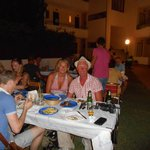 us enjoying a well oranised cheap entertaining bbq night. do not miss!!